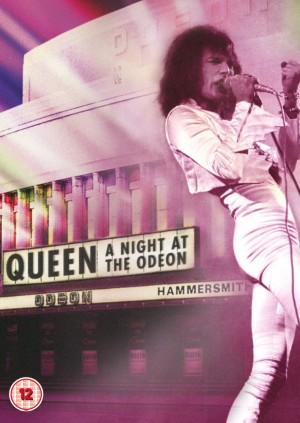 Queen: A Night At The Odeon - Hammersmith 1975 - DVD Cover