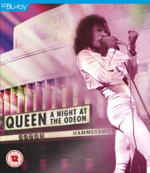 Queen: A Night At The Odeon - Hammersmith 1975 - Blu-ray Cover