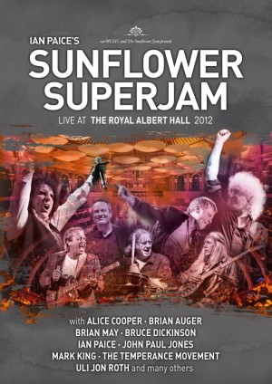 Ian Paice's Sunflower Superjam – Live At The Royal Albert Hall 2012 - DVD+CD