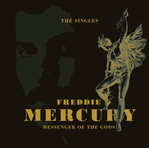 Freddie Mercury: Messenger of the Gods: The Singles - Cover